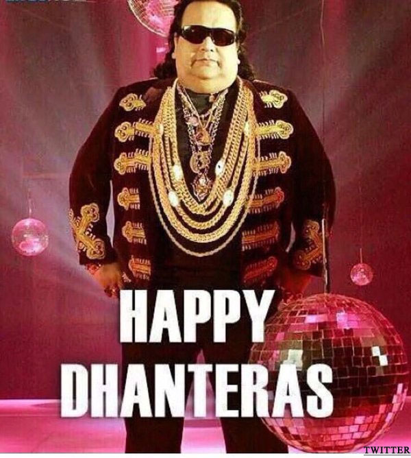 Happy Dhanteras from Bappy Lahiri