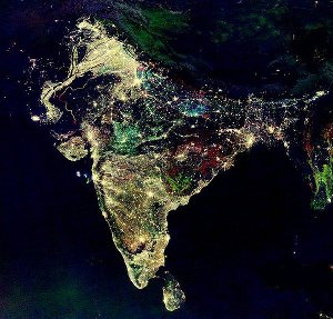 [India at night]